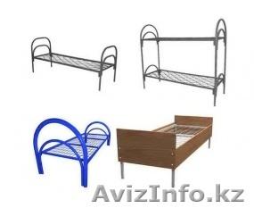 Кровати металлические для времянок, кровати для бытовок, кровати железные оптом, Объявление #1425091
